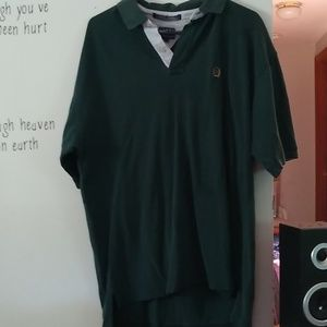 Tommy Hilfiger men's size XL jade green polo shirt